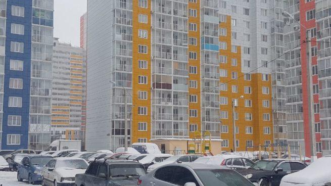 Двор ЖК «Цветной Бульвар»