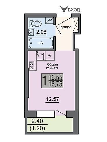 kvartira-studija-16.75-m2