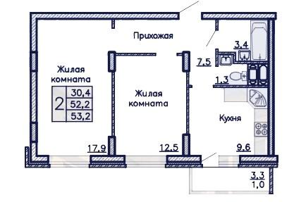 zhk-admiral-dvuhkomnatnaja-kvartira-53.2-m2