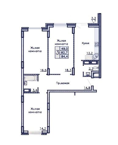 zhk-admiral-trehkomnatnaja-kvartira-84.4-m2