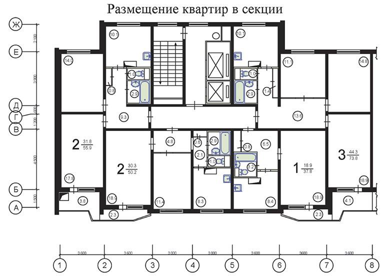 П-44 планировка