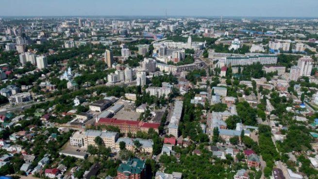 Воронеж левый и правый берег